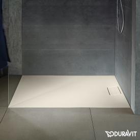 Duravit Stonetto Rechteck-Duschwanne sand