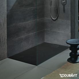 Duravit Stonetto Rechteck-Duschwanne anthrazit