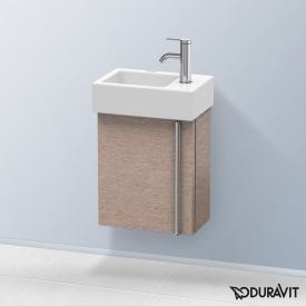 Duravit Vero Air Handwaschbeckenunterschrank mit 1 Tür Front eiche kaschmir / Korpus eiche kaschmir