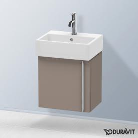 Duravit Vero Air Handwaschbeckenunterschrank mit 1 Tür Front basalt matt / Korpus basalt matt
