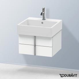 Duravit Vero Air Waschtischunterschrank normal mit 2 Auszügen Front weiß matt / Korpus weiß matt, ohne Einrichtungssystem