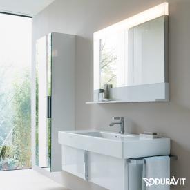 Duravit Vero Air Spiegel mit LED-Beleuchtung weiß hochglanz, mit Spiegelheizung