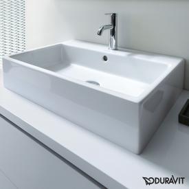 Duravit Vero Air Waschtisch weiß, mit WonderGliss, mit 1 Hahnloch, geschliffen, mit Überlauf