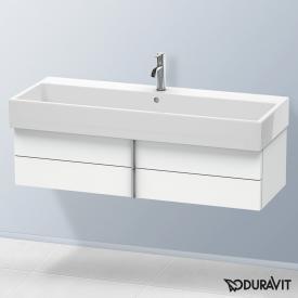 Duravit Vero Air Waschtischunterschrank normal mit 2 Auszügen Front weiß matt / Korpus weiß matt, mit Einrichtungssystem Ahorn