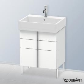 Duravit Vero Air Waschtischunterschrank mit 3 Auszügen Front weiß matt / Korpus weiß matt, ohne Einrichtungssystem