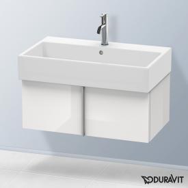 Duravit Vero Air Waschtischunterschrank mit 1 Auszug Front weiß hochglanz / Korpus weiß hochglanz, ohne Einrichtungssystem