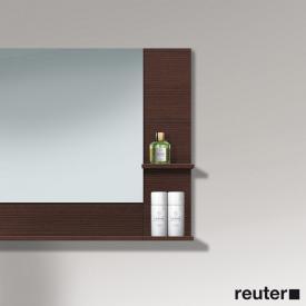 Duravit Vero Anbauelement für Spiegelschrank kastanie dunkel