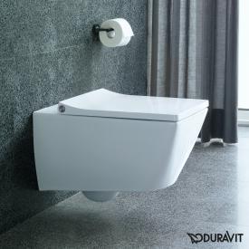 Duravit Viu Wand-Tiefspül-WC weiß, mit WonderGliss
