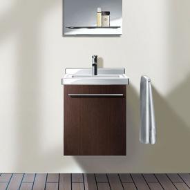 Duravit X-Large Handwaschbeckenunterschrank mit 1 Tür Front cappuccino hochglanz / Korpus cappuccino hochglanz