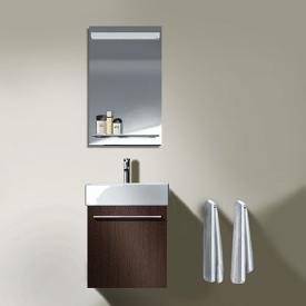 Duravit X-Large Waschtiischunterschrank mit 1 Auszug Front cappuccino hochglanz / Korpus cappuccino hochglanz