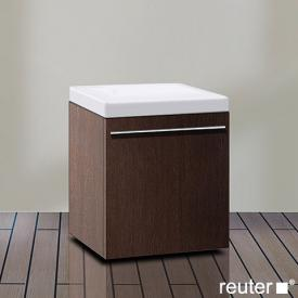 Duravit X-Large Rollcontainer mit 1 Auszug Front cappuccino hochglanz / Korpus cappuccino hochglanz