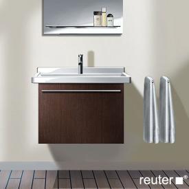 Duravit X-Large Waschtischunterschrank mit 1 Auszug Front cappuccino hochglanz / Korpus cappuccino hochglanz