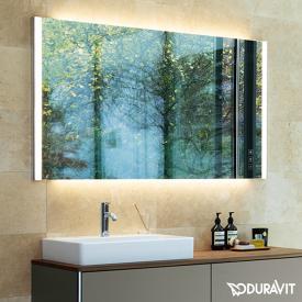 Duravit XSquare Konsole für 1 Aufsatz-/Einbauwaschtisch amerikanischer nussbaum