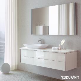 Duravit XViu Spiegel mit LED-Beleuchtung, Sensor Version schwarz matt