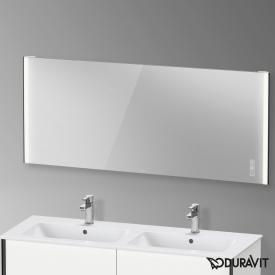 Duravit XViu Spiegel mit LED-Beleuchtung, Icon Version schwarz matt