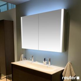 Duravit XViu Spiegelschrank mit LED-Beleuchtung Icon Version, champagner matt
