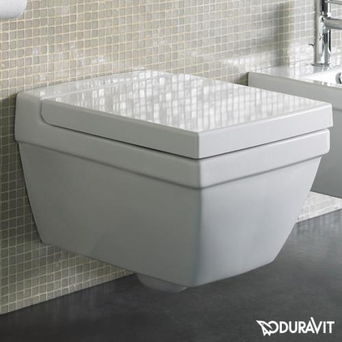 Duravit 2nd Floor Wand-Tiefspül-WC weiß