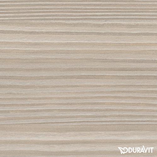 Duravit Brioso Waschtischunterschrank mit 1 Tür Front pinie silber/Korpus pinie silber, Griff chrom