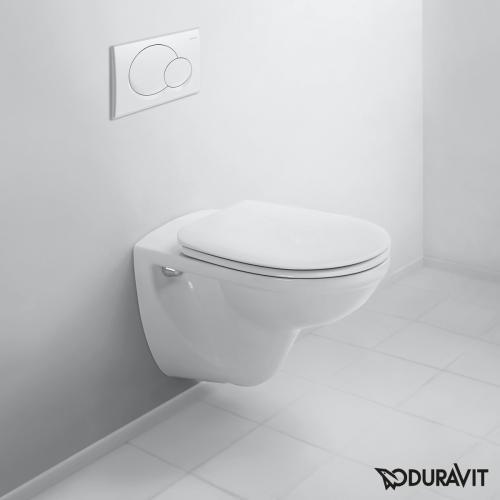 Duravit D-Code Tiefspül-Wand-WC Basic weiß