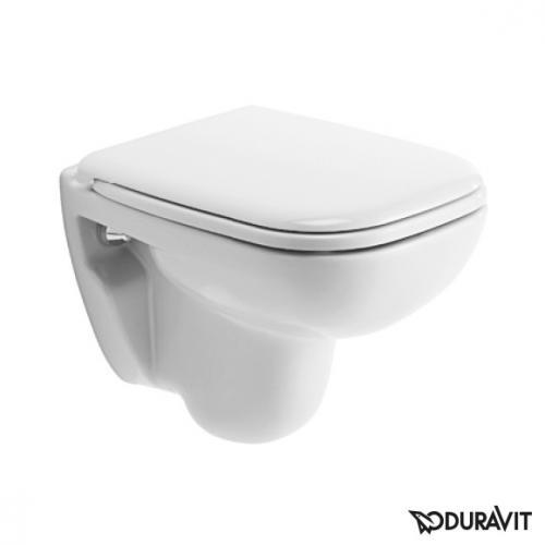 Duravit D-Code Wand-Tiefspül-WC Compact weiß