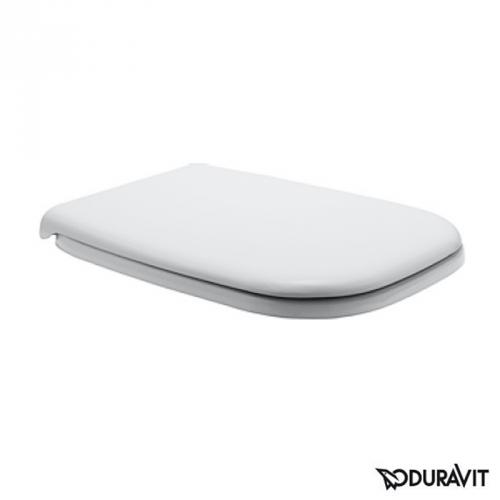 Duravit D-Code WC-Sitz weiß, ohne Absenkautomatik soft-close
