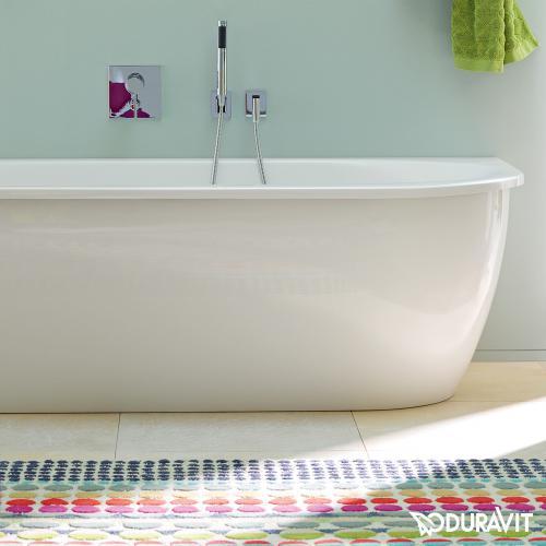 Duravit Darling New Eck-Badewanne mit Verkleidung, Eckeinbau links