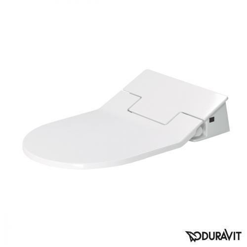 Duravit Darling New Wand-Tiefspül-WC mit SensoWash® Slim WC-Sitz, Set weiß