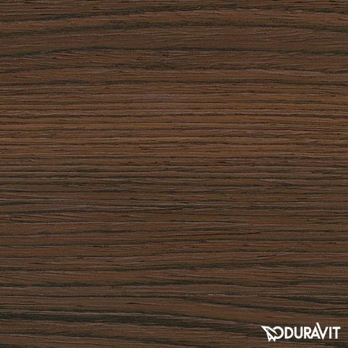 Duravit Delos Waschtischunterschrank mit 1 Auszug Front nussbaum gebürstet / Korpus nussbaum gebürstet