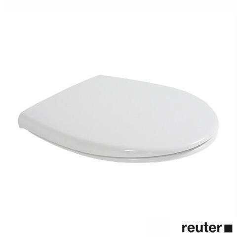 Duravit Duraplus WC-Sitz mit Kunststoffscharnieren weiß mit Kunststoffscharnieren