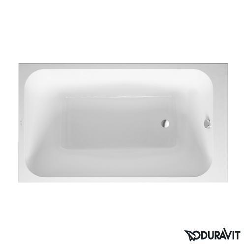 Duravit DuraStyle Rechteck-Badewanne, Einbauversion oder Wannenverkleidung