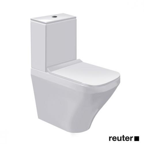 Duravit DuraStyle Stand-Tiefspül-WC Combi-Vario weiß