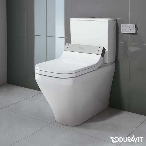 Duravit DuraStyle Stand-Tiefspül-WC Kombination für SensoWash® weiß