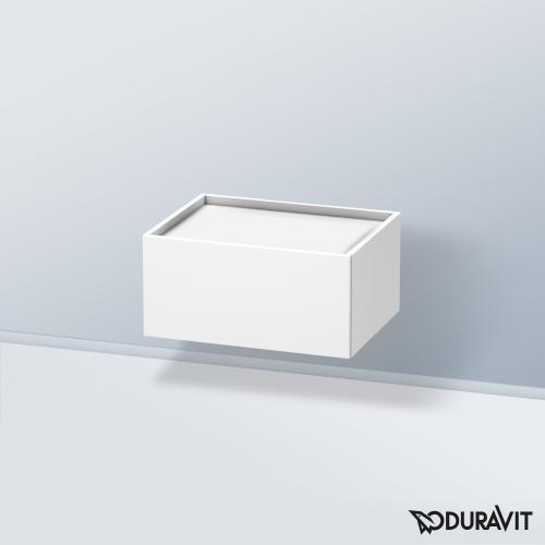 Duravit DuraStyle Unterschrank mit 1 Auszug Front weiß matt / Korpus weiß matt