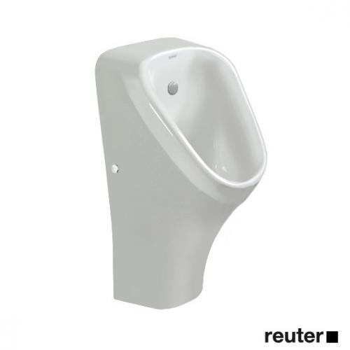 Duravit DuraStyle Urinal rimless, Zulauf von hinten weiß