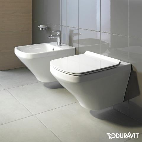 duravit durastyle wand tiefsp l wc rimless set mit softclose wc sitz und verdeckter befestigung. Black Bedroom Furniture Sets. Home Design Ideas