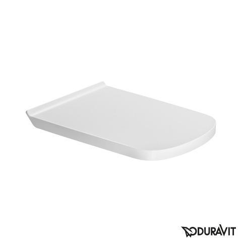 Duravit DuraStyle WC-Sitz Vital, verlängerte Ausführung weiß ohne Absenkautomatik soft-close