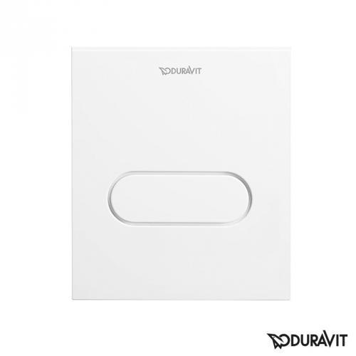 Duravit DuraSystem Betätigungsplatte A1 für Urinal, Kunststoff weiß/weiß