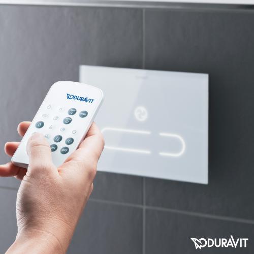 Duravit DuraSystem Betätigungsplatte A2 für WC, mit IR Sensor weiß/weiß