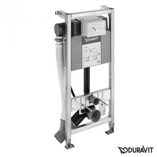 Duravit DuraSystem WC-Element Geruchsabsaugung, Hygienespülung,H: 115 cm