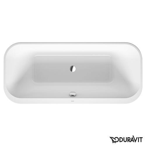 Duravit Happy D.2 Oval Badewanne, Einbauversion