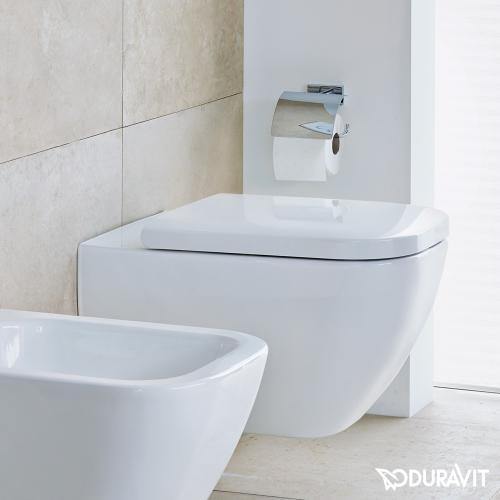 Duravit Happy D.2 Wand-Tiefspül-WC weiß