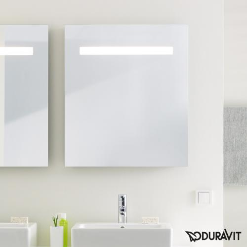 duravit ketho spiegel mit led beleuchtung kt733100000 reuter. Black Bedroom Furniture Sets. Home Design Ideas