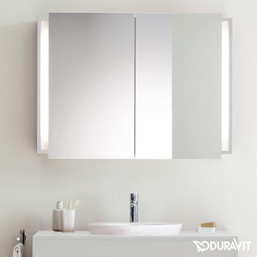 duravit ketho spiegelschrank mit beleuchtung wei matt kt753201818 reuter. Black Bedroom Furniture Sets. Home Design Ideas