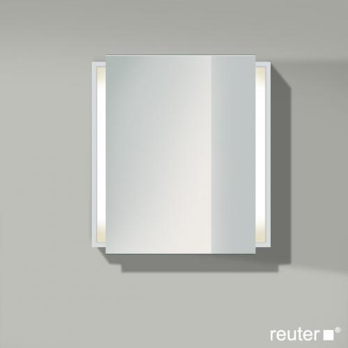 duravit ketho spiegelschrank mit beleuchtung wei matt kt7530r1818 reuter. Black Bedroom Furniture Sets. Home Design Ideas