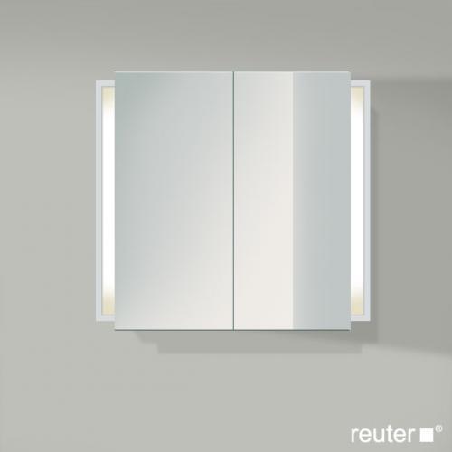 duravit ketho spiegelschrank mit beleuchtung wei matt kt753101818 reuter. Black Bedroom Furniture Sets. Home Design Ideas