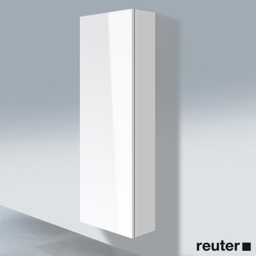 Duravit L-Cube Hochschrank mit 1 Tür Front weiß hochglanz / Korpus weiß hochglanz