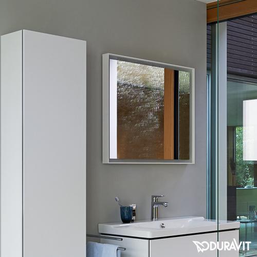 duravit l cube spiegel mit led beleuchtung lc738000000 reuter. Black Bedroom Furniture Sets. Home Design Ideas
