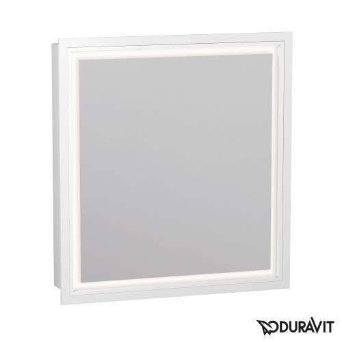 Duravit L-Cube Spiegelschrank mit LED-Beleuchtung, 1-türig Anschlag rechts