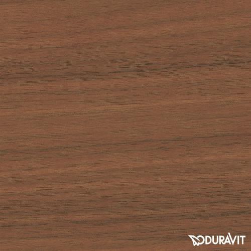 Duravit L-Cube Waschtischunterschrank mit 2 Auszügen für Doppelwaschtisch Front amerikanischer nussbaum / Korpus amerikanischer nussbaum, ohne Einrichtungssystem