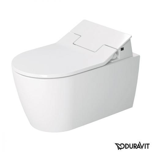 Duravit ME by Starck Wand-Tiefspül-WC für SensoWash®, rimless weiß mit HygieneGlaze